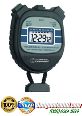 Đồng hồ bấm giây 1045 Traceable® Water-/Shock-Resistant Stopwatch  Control USA