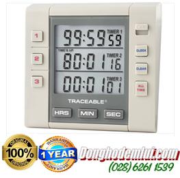 Đồng hồ đếm lùi hẹn giờ 5000 Traceable®Three-Channel Alarm Timer