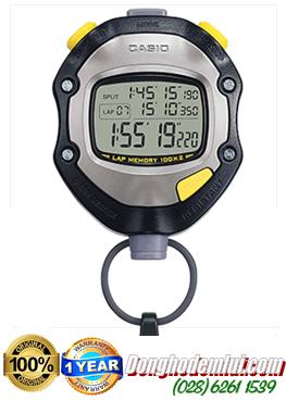 Đồng hồ bấm giây Casio HS-70W với 100 LAPS chính hãng CASIO