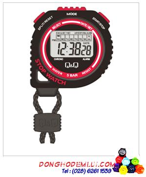 HS48J003Y; Đồng hồ bấm giây Q&Q HS48J003Y chính hãng| Hàng có sẳn