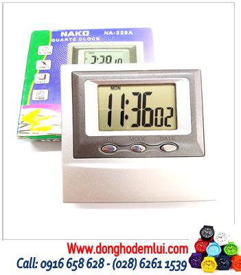 Đồng hồ báo thức NA-228A chính hãng | HÀNG CÓ SẲN (Bảo hành 1 tháng)
